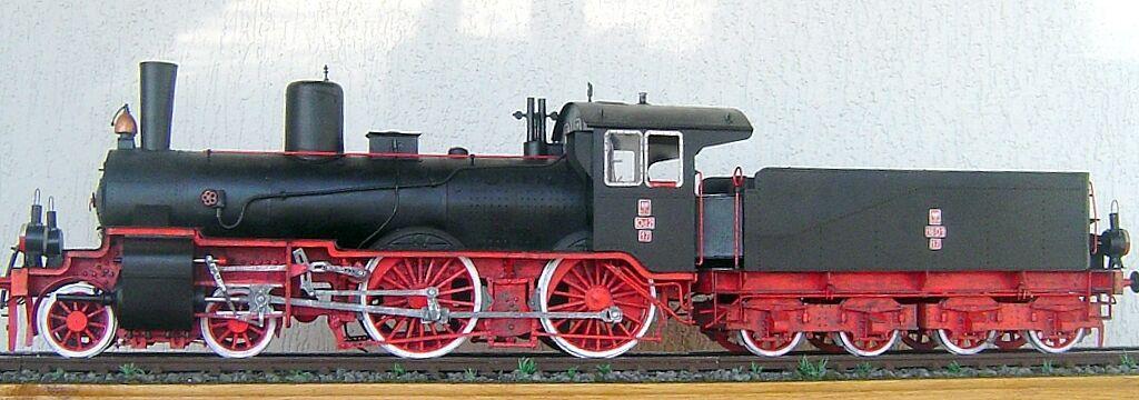 Modelik 24 06 - Steam Locomotive OD2 (p4.2) 1 25 with Lasercut Parts