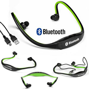 stereo headset bluetooth wireless headphone sport for iphone htc samsung lg. Black Bedroom Furniture Sets. Home Design Ideas