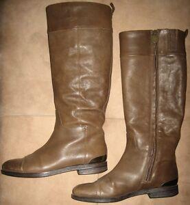 Details zu Geox Damen Stiefel Dalya Gr. 38 für Herbst oder Frühling in braun Reitstiefel
