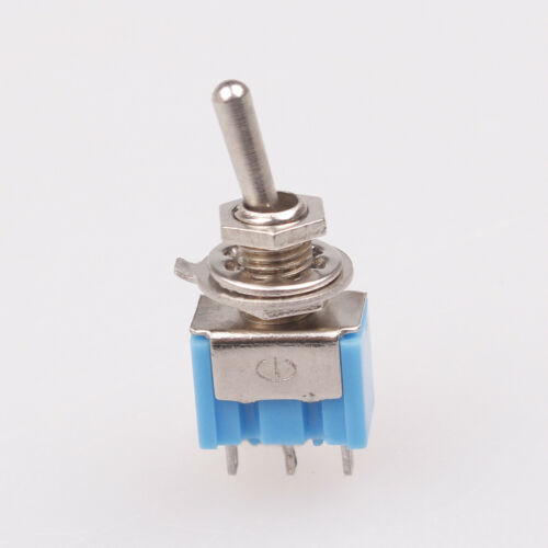 10pcs 3-Pin SPDT ON-ON Toggle Switch 6A 125VAC YB