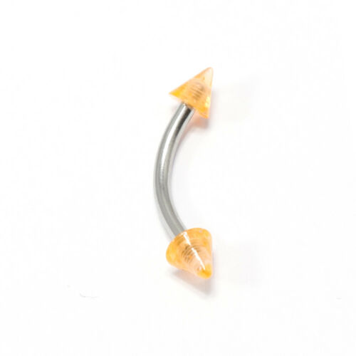 Eyebrow Ring Cartilage Piercing Jewelry 10 Pack Surgical Steel 16G Tragus Helix