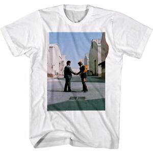 b3f9b705636 Details about Pink Floyd Wish You Were Here Album Cover Men s T Shirt Fire  Handshake Concert