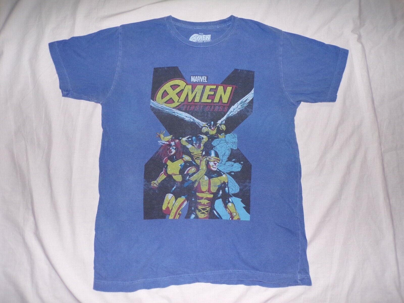 X-Men First Class Shirt Marvel Large