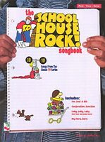 The School House Rock Songbook Sheet Music Piano Vocal Songbook 002505514