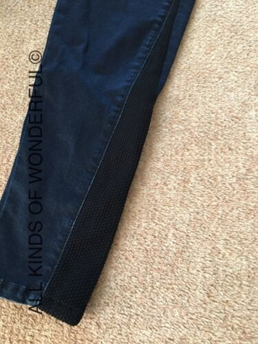 with contrast stretch inserts RRP £135 BNWT Replay Alaraph Indigo Jeans
