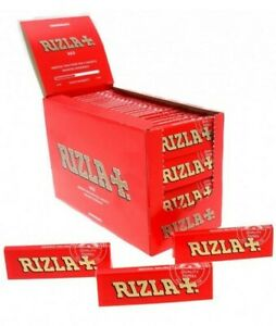1-5-10-20-50-100-Rizla-Red-Regular-Size-Rolling-Papers-Fast-Free-Delivery