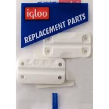 Igloo Cooler Plastic Hinges for Ice Chests (set of 3) Replacement Part 24012