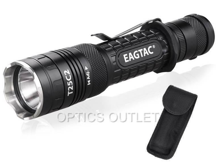 Eagletac t25c2 xp-l 1250 Lumens 300 Yardas Led Linterna Táctica-g25c2 actualización