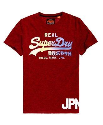 Superdry Men/'s Vintage Logo 1st Tee M10033TR-VN4 Alabama Red Grit Sizes S-XXXL
