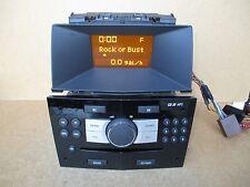 Vauxhall Zafira B Astra H CD30 Radio Stereo CD MP3 Player PIANO BLACK 13289935