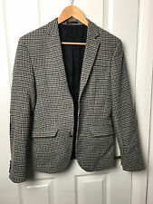 UK36 Cavo Asos In Tweed Stile Gomito Patch Tuta Da Uomo Smart Formale Giacca su misura