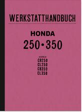 Honda CB CL 250 350 Reparaturanleitung Werkstatthandbuch Werkstatt-Handbuch