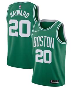 NIKE Men Boston Celtics #20 Hayward Swingman Jersey 864461 320 - M(44) New