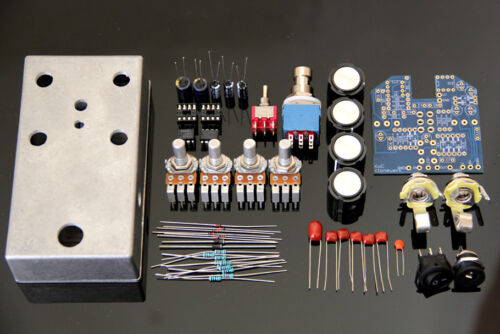 King of Clone Overdrive Bausatz KIT9V//18VMA856 1S1588 Dioden