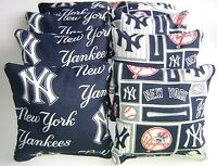 York Yankees Cornhole Bean Bags Set Of 8 Top Quality Regulation Toss Game