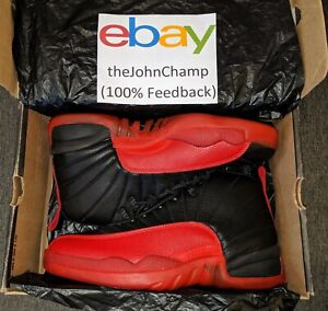 low priced 4bfaa 2c46b Details about DEADSTOCK OG NIKE Air Jordan 12 XII Flu Game Games from 1997!  | 130690-061 RARE