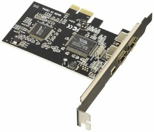Nilox-4-Port-FireWire-PCI-E-Card-Schnittstellenkarte-Adapter-10NXAD0704002