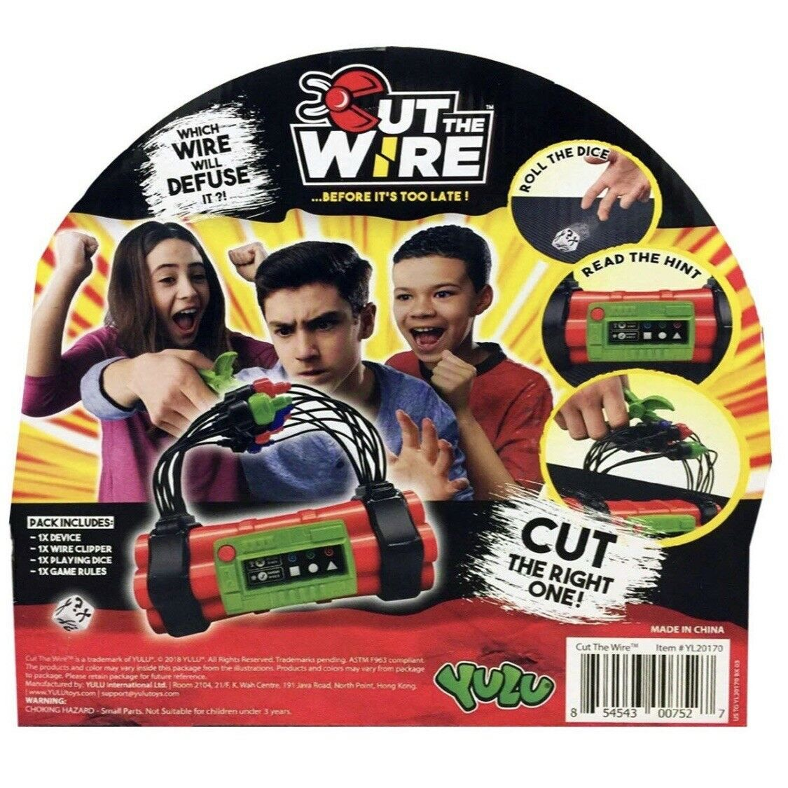 SET OF 3 Cut The Wire ...Before It's Too Late Late Late - Family Game- New In Box 7eef21