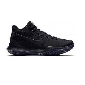 Caricamento dell immagine in corso Nike-da-Uomo-Kyrie-3-Nero-Scarpe-da- 38cdd863804