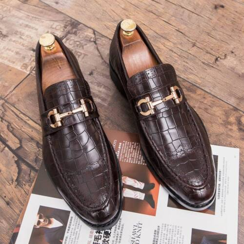 Men Wedding Dress Shoes Oxfords Leather Shoes Business Formal Casual Point Toe