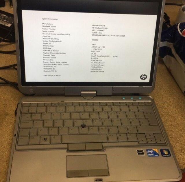 HP Netbook Webcam XP