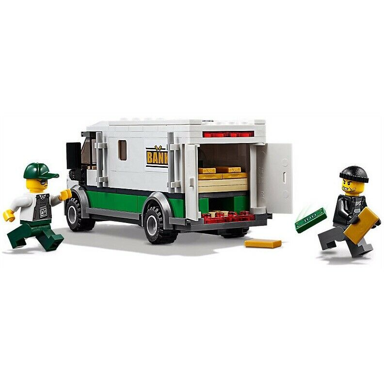 LEGO City Armored Truck /& Minifigure from set 60198 New in Bags