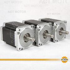 ACT Motor GmbH 3PCS Nema34 Stepper Motor 34HS1456 Schrittmotor 5.6A 116mm 8.4N.m