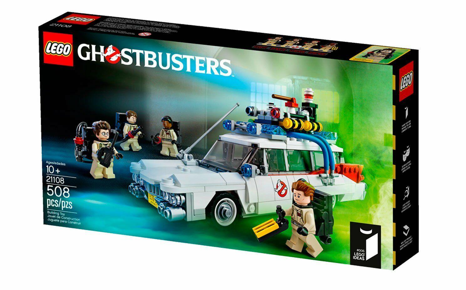 Jeux Nrppen1851 Jouets Et Ecto Idées Ghostbusters 1 Van Lego 21108 rdsCtBhQx