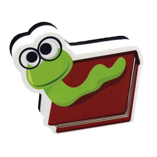 Bookworm Magnetic Whiteboard Eraser