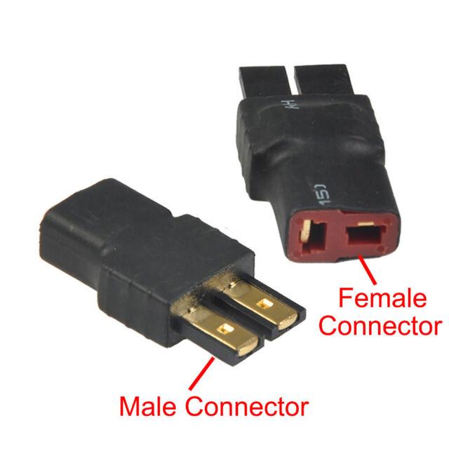 rc connectors traxxas style male /& female 12ga.wire!!