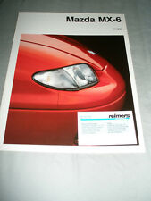 Mazda MX3 brochure Sep 1993 German text