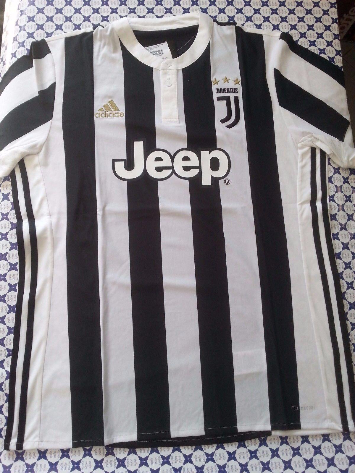 TShirt Adidas Juventus Juve Maglia Ufficiale 201718  BiancoNero  BQ4533 207