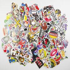 300 Mix Lot Skateboard Stickers Luggage Decals Vintage Vinyl Laptop Dope Sticker