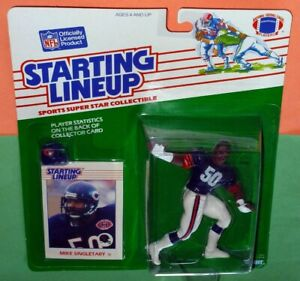 1988-MIKE-SINGLETARY-Chicago-da-Bears-Rookie-NM-50-FREE-s-h-Starting-Lineup