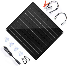 New Listingsolar Trickle Charger 20w 12v Solar Panel Car Battery Charger Portable Battery