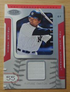 2003-Fleer-Hot-Prospects-1250-Hideki-Matsui-105-Rookie-Yankees-FREE-SHIPPING