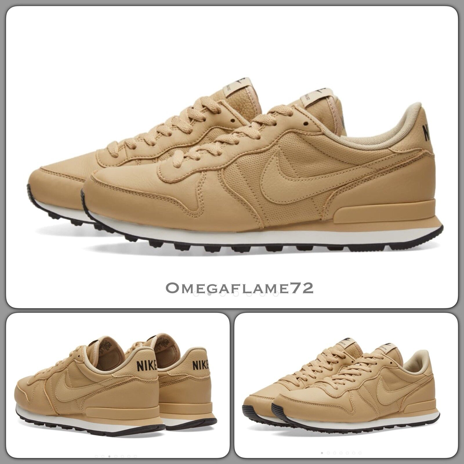 Nike Internationalist, 631754-202 Leather US 11 Mushroom vachetta Leather 631754-202 7d4837