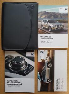 genuine bmw x3 f25 handbook owners manual wallet 2010 2014 pack c rh ebay ie 2014 bmw x3 user manual 2015 bmw x3 owners manual pdf