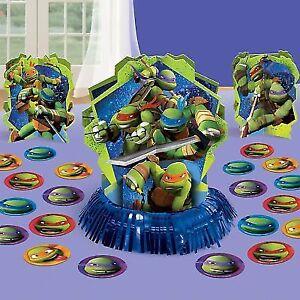 Teenage Mutant Ninja Turtles Table Decorating Kit Ebay