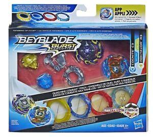 Beyblade-Burst-Evolution-Quad-Pack-Hasbro-Cognite-C3-Vs-Roktavor-R3-Recolor-Set