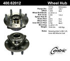 Axle Bearing and Hub Assembly-C-TEK Standard Front,Rear Centric 400.62012E