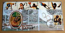 OLYMPIC GAMES ATLANTA 1996 BENHAM FDC POND'S FORGE SHEFFIELD HANDSTAMP