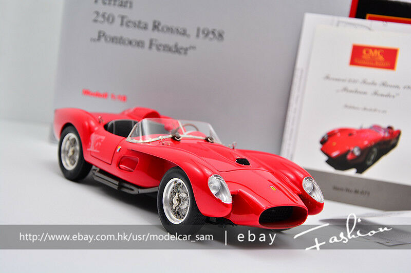 CMC 1 18 Ferrari 1958 250TR Röd