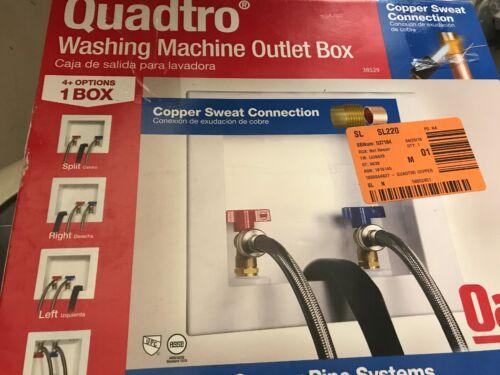 Oatey Model 38529 Washing Machine Outlet Box