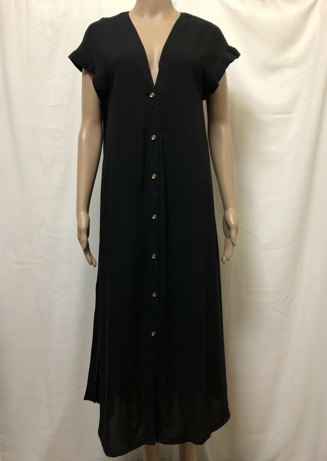 Cartel & Willow Dress Womens  Size Medium  New w  Tags NWT Button Front Style