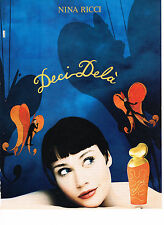 PUBLICITE ADVERTISING 034   1995   NINA RICCI  parfum DECI-DELA