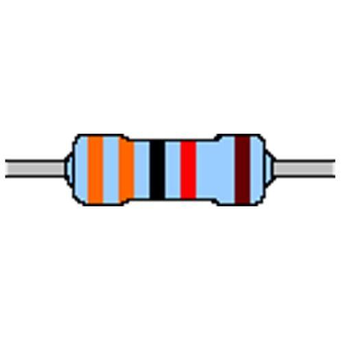 Strato di metallo-resistenza 33 K 1/% 0,4w forma con 0204 CINTURE