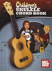 AgréAble Children's Ukulele Chord Book-afficher Le Titre D'origine Qualité SupéRieure (En)