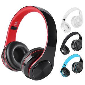 Bluetooth-Wireless-Foldable-Headset-Headphone-Earphone-MIC-For-iPhone-Samsung