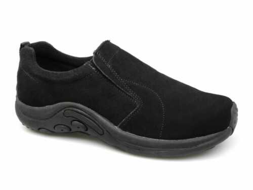 PDQ RYNO Unisex Womens Mens Twin Gusset Jungle Casual Daily Suede Trainers Black